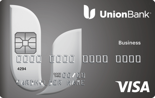 This is an image of the Union Bank Business Low Rate Credit Card