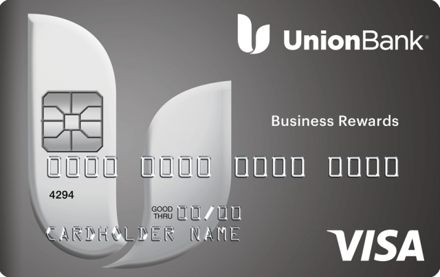 This is an image of the Union Bank Business Rewards Credit Card