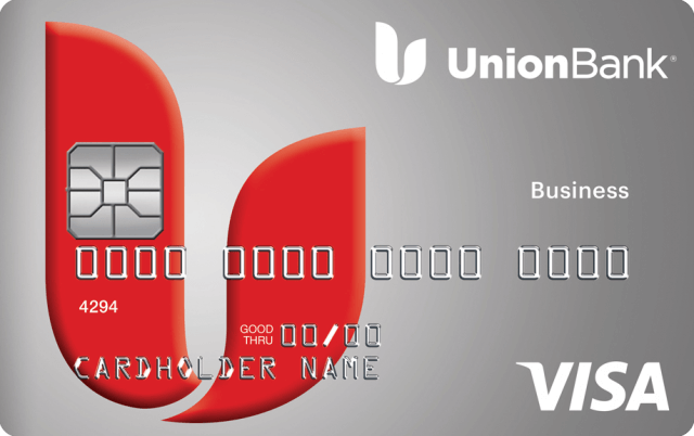 This is an image of the Union Bank Business Secured Credit Card