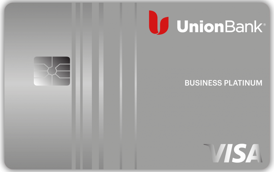 This is the Union Bank Business Platinum Rewards Credit Card