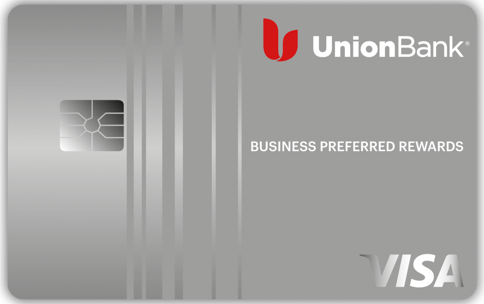 This is the Union Bank Business Preferred Rewards Credit Card