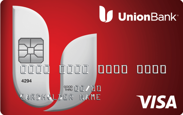 Image of a Union Bank® Personal Visa® Credit Card