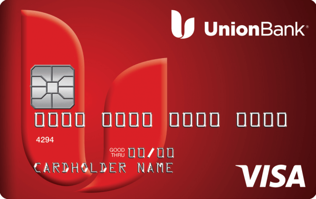 This is an image of the Union Bank Personal Secured Credit Card Image