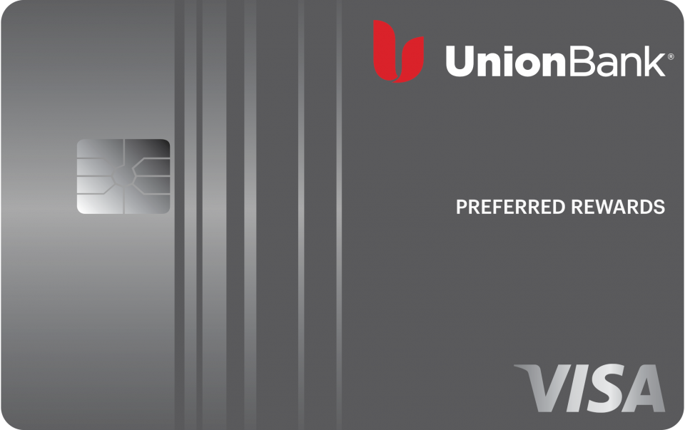 This is the Union Bank Preferred Rewards Card