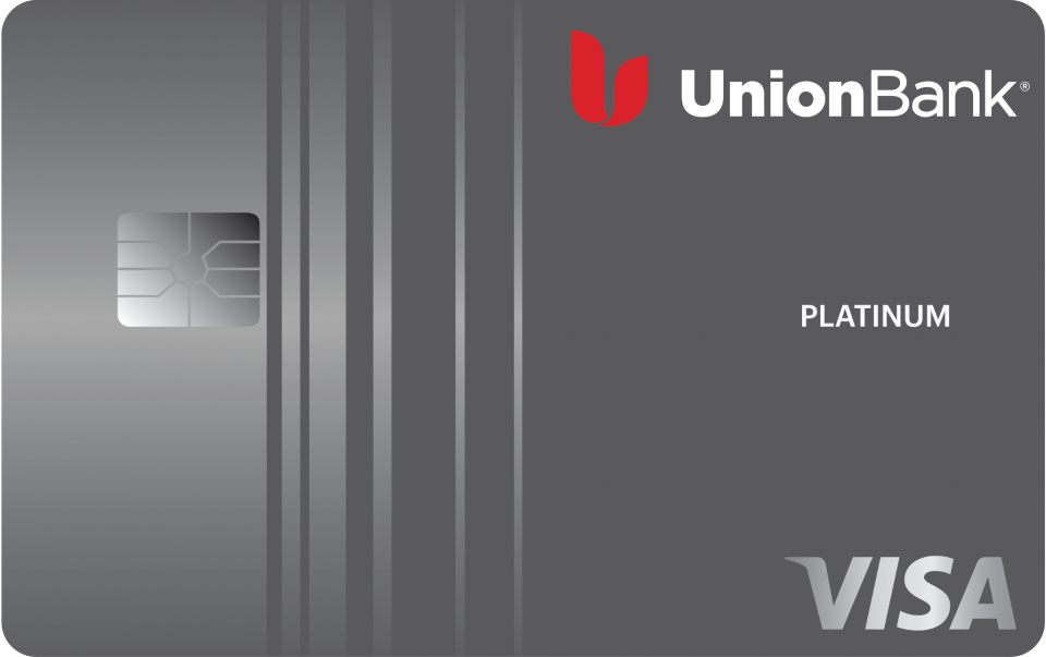 This is the Union Bank Platinum Rewards Credit Card