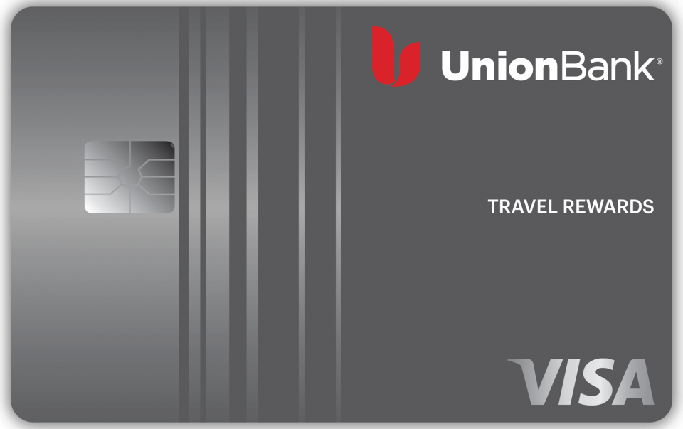 This is the Union Bank Travel Rewards Card
