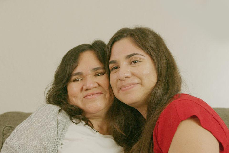 CSR - Fernanda and her mother