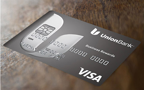 This is an image of a business rewards visa card