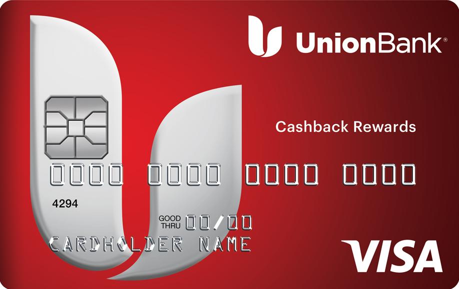 Cashback Rewards Visa card