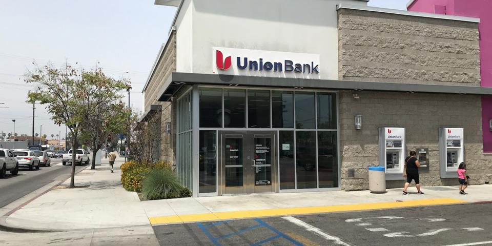 Union Bank Crenshaw branch