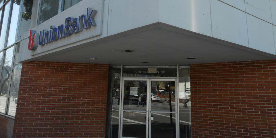 Union Bank Oakland Branch