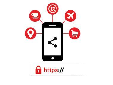Online behavior icon
