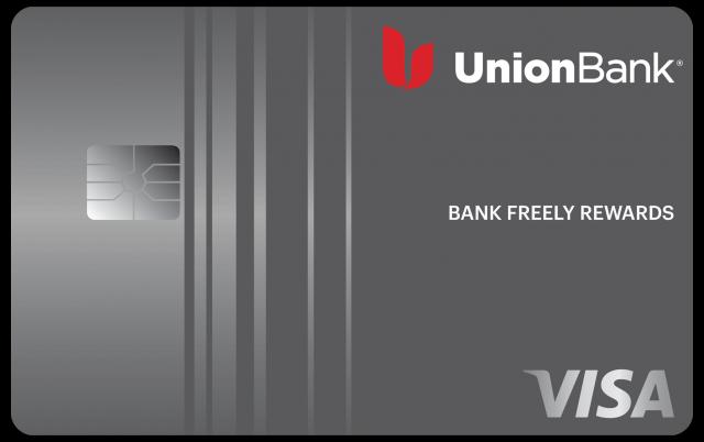 Union Bank Bank Freely Rewards Visa